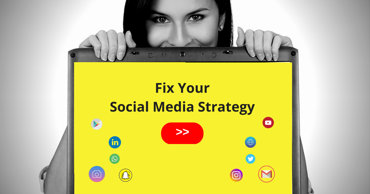 "Register for ""Fix Your Social Media Strategy"" >> July 5-6, 2017. Get more info now!"
